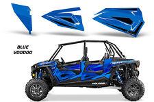 AMR Racing Graphic Wrap Kit Polaris RZR 1000 UTV 4 Door Inserts 2014 VOODOO BLUE