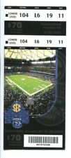 2009 SEC Championship Game Full Ticket Alabama Tide v Florida Gators 12/5 41936