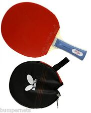 New Butterfly 201 Flared Table Tennis Racket Ping Pong Paddle Bat Racquet