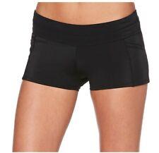 Jag Sport Womens Swimsuit Boyleg Bottoms, Black, XL