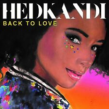 HED KANDI : BACK TO LOVE (Various) 3 CD SET (2017)