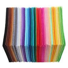 40pcs Mixed Color Soft Non-woven Felt Fabric Sheets DIY Craft Patchwork Square
