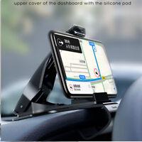 360 Degree rotation Adjustable Clip Mount Holder Mobile Phone Holder Stand GPS