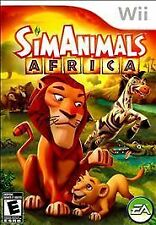 SimAnimals Africa WII NEW! SIMS, SIM ANIMAL, LION, TIGER, ZEBRA, GIRAFFE, FAMILY