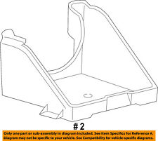 FORD OEM 03-07 F-250 Super Duty Air Cleaner Intake-Support Bracket 5C3Z10732BA