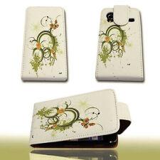 Design 2 Custodia Flip Cover Case Custodia per Samsung s5830 Galaxy Ace