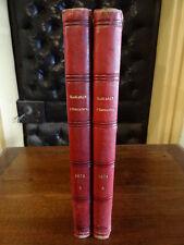 Magasin d'éducation et de récréation Stahl Verne Macé Hetzel 2 tomes 1875