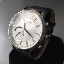 Emporio Armani Designer Watch Connected ART3003 Hybrid SmartWatch iPhone Android