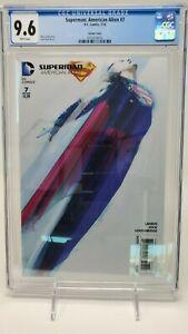 Superman: American Alien #7 CGC 9.6 Jock 1:25 Variant DC Comics