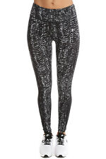 NIKE EPIC LUX SIDEWINDER PRINT TRAINING  leggings size 6 X SMALL BLACK GREY MIX