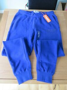 Superdry Track and Field Straight Leg Joggers Ladies Size L UK14