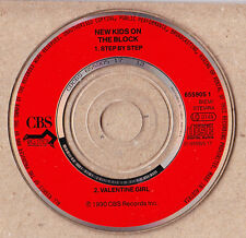 MINI CD Pocket 3'' * NEW KIDS ON THE BLOCK * Step by Step / Valentine Girl *
