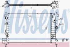 Nissens 61697 Radiator CHEVROLET / GMC AVEO  (11-)