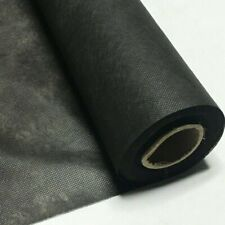 Polypropylene Black Interfacing Dust Cover Cloth Fabric 36