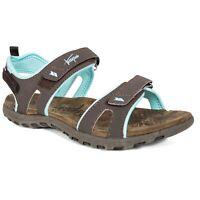 Trespass  Serac Womens Walking Sandals Brown Open Toe Shoes Hiking