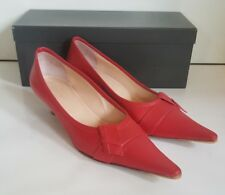 Coccinelle Kitten heel court shoes. Pink. UK 5 1/2