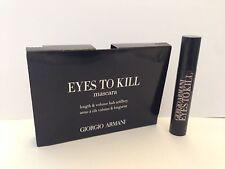 Giorgio Armani Eyes To Kill Mascara Length & Volume  2 ml mini Black New