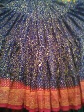 NEW!!Tribal BellyDance ATS Gypsy 25 Yard Maharani Skirt PURPLE &FUSHIAS