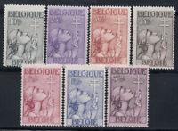Belgien 1933 Mi. 366-372 Ungebraucht * 100% Kampf gegen Tuberkulose