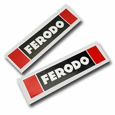 Ferodo sponsor stickers motorcycle decals graphics x 2