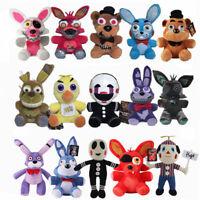 Five Nights at Freddy's Plush Stuffed FNAF Toy Plush Foxy Bonnie Doll US Stock