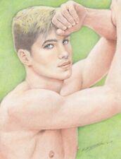 "Gay Art ""Jeff"" Original not a copy by Salvador Salazar"