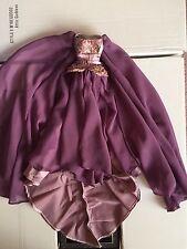 Tonner Evangeline Ghastly DRESS ONLY ~ Attic Goddess ~ flowing purple fashion
