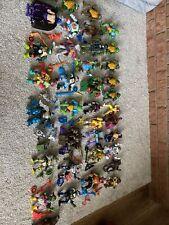 Huge Lot 30+ of Loose TMNT Ninja Turtles Figures And Weapons
