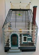 rf Bird Cage - Victorian Cage, Architectural Design with Widows Walk