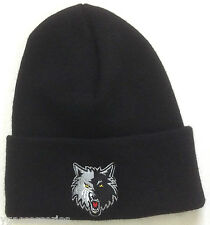 Nba Minnesota Timberwolves Cuffed Winter Knit Hat Cap Beanie New!