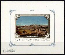 1126 Romania 1970 Paintings S/S MNH