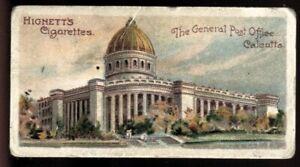 Tobacco Card,Hignett,INTERESTING BUILDINGS,1905,General Post Office Calcutta,#41