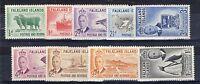 Falkland Islands 1952 vals to 1s MLH
