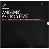 Nagaoka Anti-Static Record Sleeves Schallplatteninnenhüllen Vinyl LP, 50 Stück
