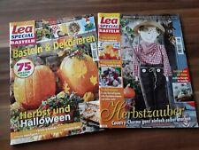 2 Hefte Lea Special Basteln, Herbst, Halloween