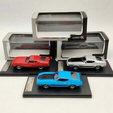 1:43 Premium X Ford Mustang Mach 1 Blue/Silver/Red Models Car Limited Collection