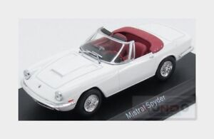 Maserati Mistral Spider 1964 White EDICOLA 1:43 MASCOL012