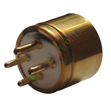 5pc 4pin Gold Ceramics vacuum tube sockets base For 300B 2A3 811 audio amp DIY