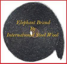 25 lb Case Steel Wool Rolls, Grade #2 Medium Coarse