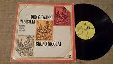 Bruno Nicolai – Don Giovanni In Sicilia - LP colonna sonora