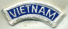 Vietnam era Vietnam Patch Tab Blue & White