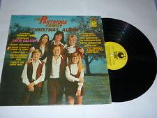THE PARTRIDGE FAMILY - Christmas Album - 1971 UK LP