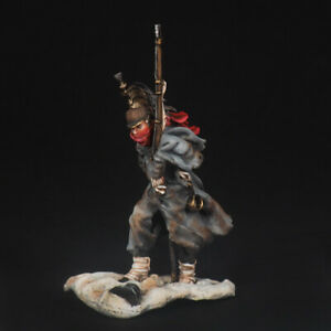 Tin soldier, French Dragoon, retreat from Russia 12 year 54 mm