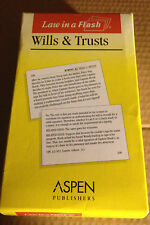 Aspen Flash Cards Wills and Trusts Like New