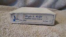 Vintage Wright & McGill Nylon Tippits - Test 3 lbs. & 2 1/4 lbs. - Mist (G 9)