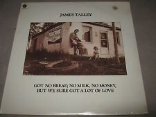 JAMES TALLEY Got No Bread Milk Money but Sure Love RARE SEALED LP 1975 ST-11416
