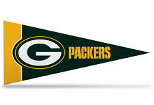 """New NFL Green Bay Packers Mini Pennant  9""""x4""""(22 x 9 1/2) Made in USA Banner15"""