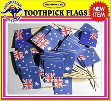 50 Australian flag Australia flag toothpicks for cooking cupcakes & party