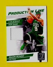 RAJON RONDO 2010 PRODUCTION LINE- 2.3 STEALS GAME USED JERSEY#/399