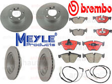 Brake Friction Kit BMW E46 323i 328i  Rotors Pads  Sensors MEYLE+Brembo